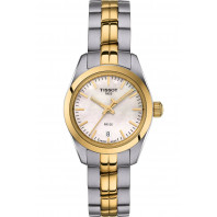 TISSOT PR100- Quartz Lady MOP  Steel & Gold PVD Small