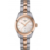 TISSOT PR100- Quartz Lady MOP  Steel & Rose Gold PVD Small