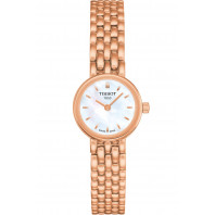 Tissot - Lovely white & rose gold PVD bracelet Lady's Watch