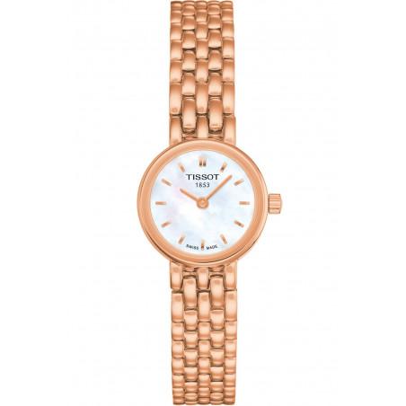 Tissot - Lovely white & rose gold PVD bracelet Lady's Watch
