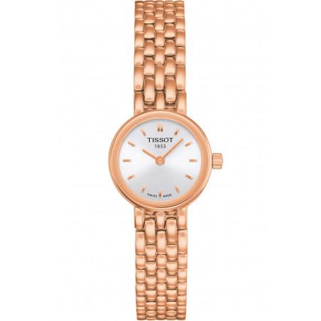 Tissot - Lovely silver & rose gold PVD bracelet
