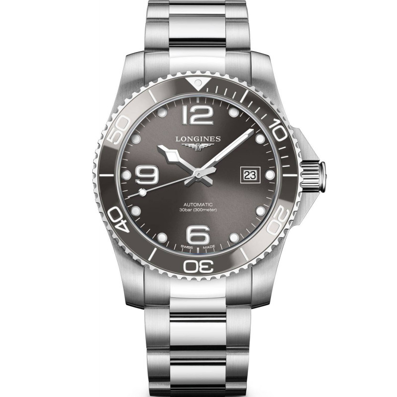 Longines - HydroConquest Ceramic & Steel Black Black 41 mm