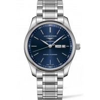 Longines - Master Blue Steel Annual Calendar 40mm