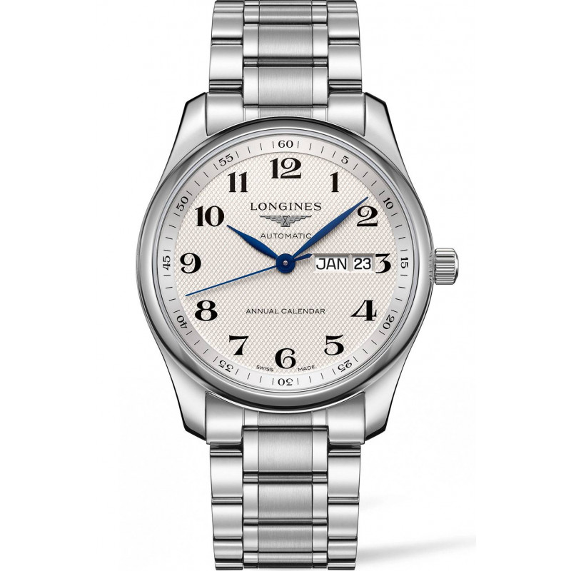 Longines - Master Vit Steel Annual Calendar 40mm