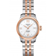 Tissot - Le Locle Automatisk Damklocka Diamant & Rose Guld PVD