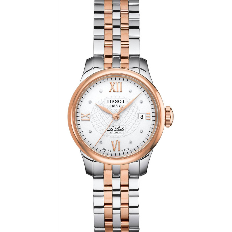 Tissot - Le Locle Automatic Lady Diamonds & Rose Gold PVD