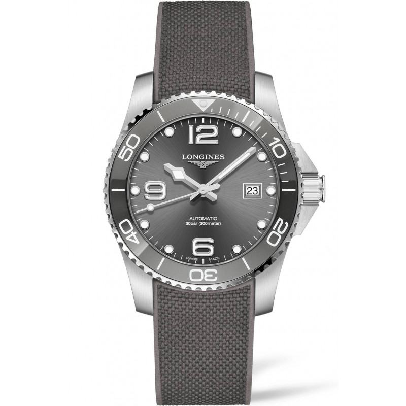 Longines - HydroConquest Ceramic & Rubber Grey 41 mm