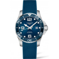 Longines - HydroConquest Keramisk ring & Gummiband Blå 41 mm