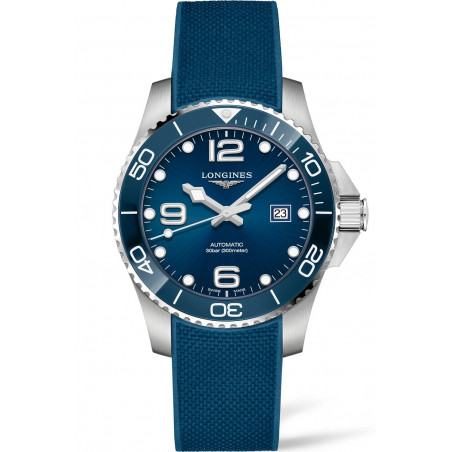 Longines - HydroConquest  Ceramic & Rubber Blue 41 mm