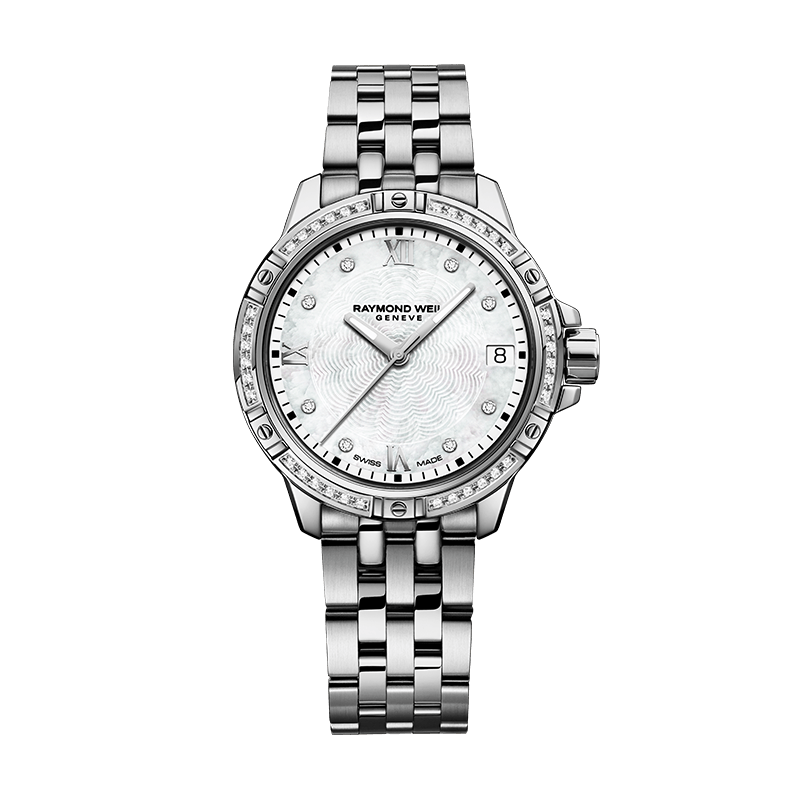 Tango Calssic- Lady 44 Diamonds MOP Steel Braclet