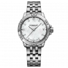 Tango Calssic- Lady 8 Diamonds MOP Steel Braclet