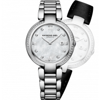 Raymond Weil - Shine 8 Diamanter Silver & Steel
