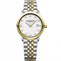 Raymond Weil - Freelancer MOP Diamonds Steel & Gold Lady's Watch Quartz