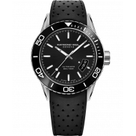 Raymond Weil - Freelancer Diver Black & Rubber