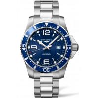 Longines - HydroConquest 44mm Blue Dial & Steel Bracelet L38414966