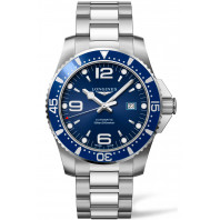 Longines - HydroConquest Stål & Blå 44 mm