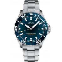 MIDO Ocean Star Diver 600- COSC Blue Steel Gent's Watch