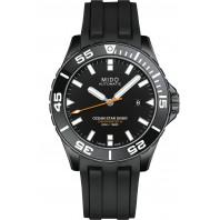 MIDO Ocean Star COSC Black PVD & Rubber