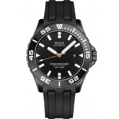 MIDO Ocean Star COSC Black PVD & Rubber Gent's Watch M0266083705100