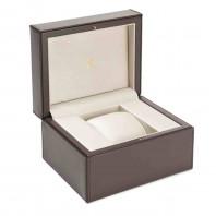 Baume & Mercier Clifton Baumatic Vit, Läderband Rose Guld PVD M0A10519