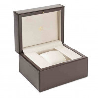 Baume & Mercier Clifton Baumatic White & Leather strap PVD M0A10401