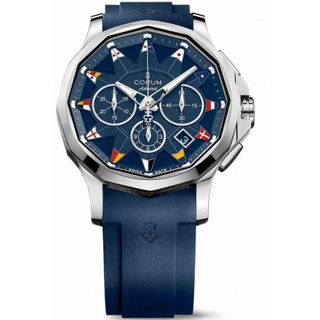 Corum Admiral Legend Chronograph, blue A984/03156 -984.101.20/F373AB12