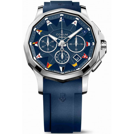 Corum Admiral Legend Kronograf, blå A984/03156 - 984.101.20/F373AB12