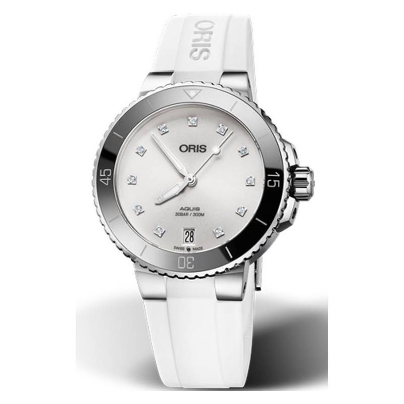 Oris - Aquis Date Diamonds Lady