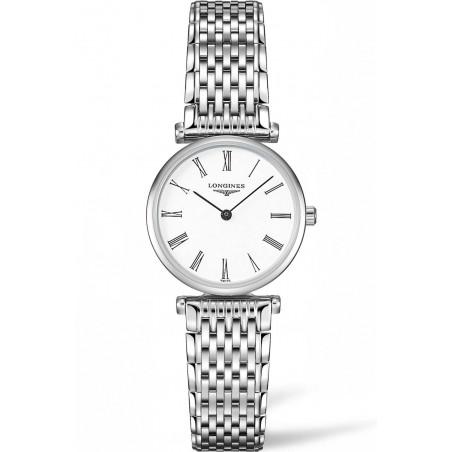 Longines La Grande Classique Roman Numeral Steel women's watch 24mm