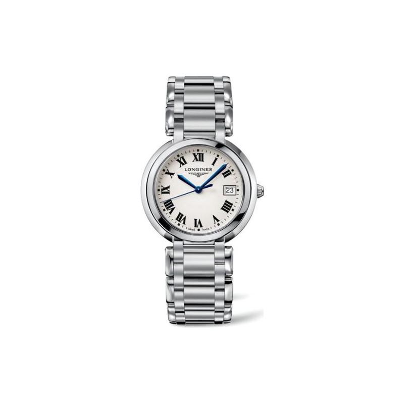 Longines - Prima Luna 26 mm Steel Quartz Lady's Watch