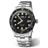 Oris Divers Sixty-Five Blue Dial & steel bracelet