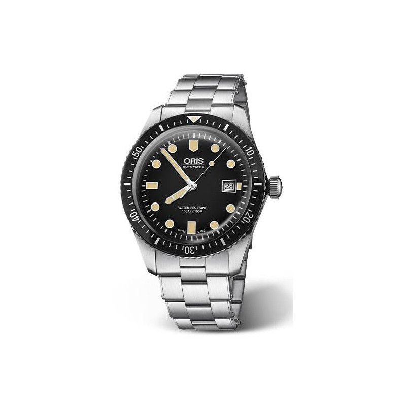 Oris Divers Sixty-Five Blue Dial & steel bracelet
