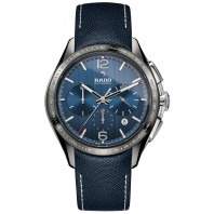 Rado - HyperChrome Automatic Chronograph Grey Ceramic & Blue