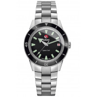 Rado - HyperChrome Captain Cook Black & Steel R32500153