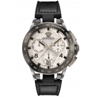 Versace - Sport Tech Chrono Herrklocka White & Lather VERB00118