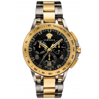Versace - Sport Tech Chrono Herrklocka Black & Gold VERB00418