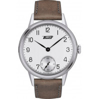 TISSOT HERITAGE PETITE SECONDE Silver & Leather
