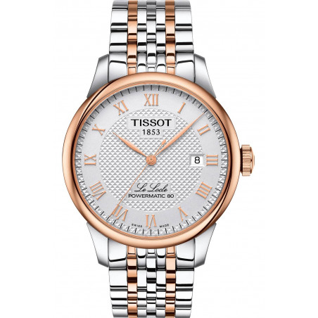 Tissot - Le Locle Automatic White & Rose Gold PVD