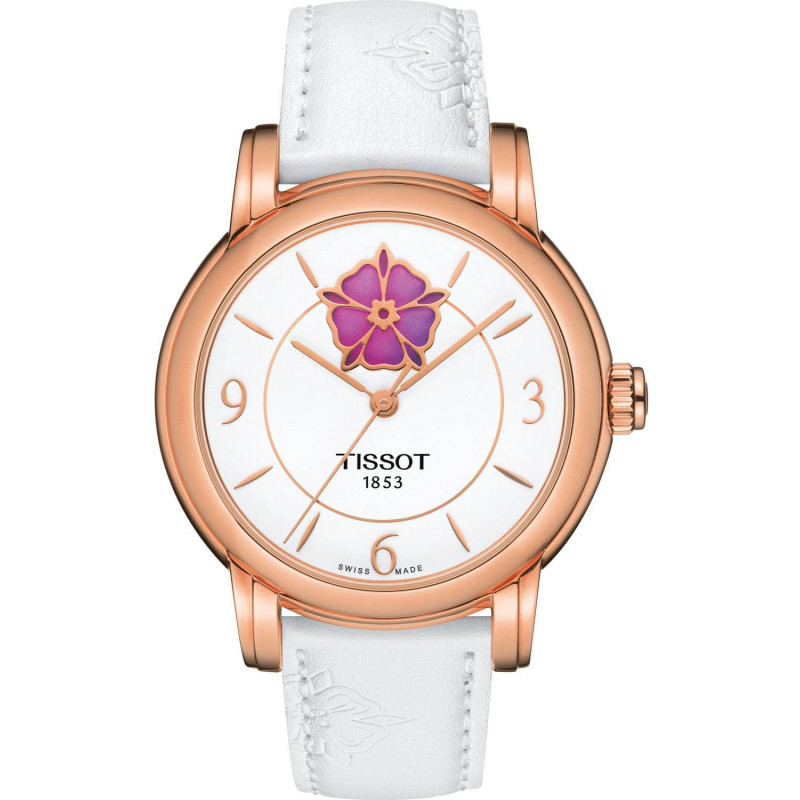 Tissot - Lady Heart Flower Powermatic 80 rose gold