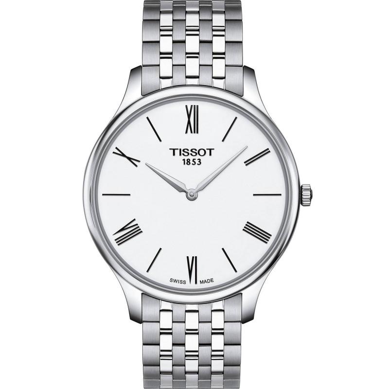 Tissot - Tradition Thin 5,5 Vit & Stål 39mm