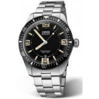 Oris - Divers Sixty-Five Black & steel bracelet