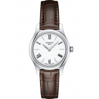 Tissot - Tradition Thin 5,5 White & Leather 25mm