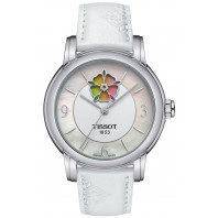 Tissot - Lady Heart Flower Powermatic 80 Steel & Leatherstrap