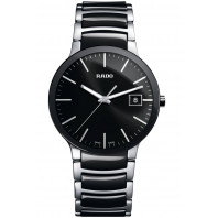Rado - Centrix Quartz Black Ceramic & Steel Men's R30934162