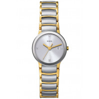 Rado - Centrix Steel & Gold Quartz Lady's R30932713