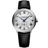 Raymond Weil - Maestro Small Second Silver & Leather strap