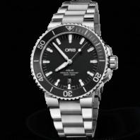 Oris Aquis Date Black Steel bracelet 43.5 mm 73377304154MB-0782405PEB