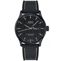 MIDO Multifort - COSC Black & Black PVD Men's watch