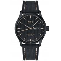 MIDO Multifort - COSC Svart urtavla, gummi band, M0384313705100