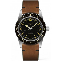 Longines - Skin Diver Watch & Leather Strap 42mm